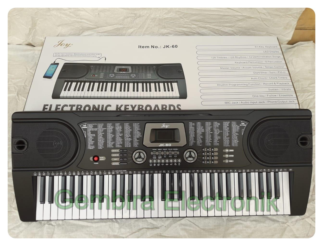 KEYBOARD PIANO JOY JK-60 KEYBOARD DIGITAL ANAK