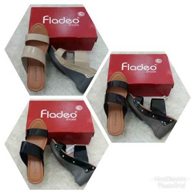 Fladeo - Sandal Branded Murah Variasi Cream sz 40