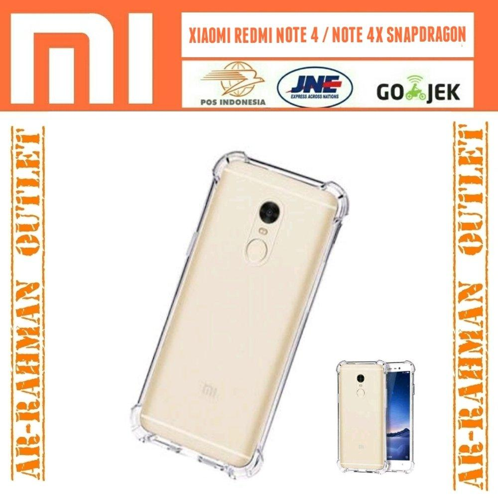 Anti crack shock anticrack soft case cover casing armor ultrathin softcase jelly tpu handphone hp xiaomi redmi note4 note 4x note4x snapdragon tam di lapak ARRAHMAN OUTLET raihanalbatawi