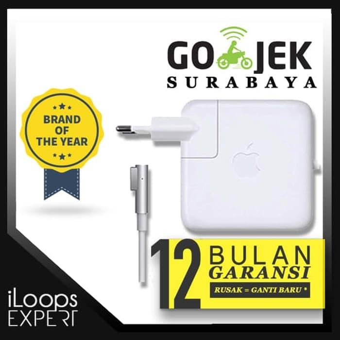 Terbaru! Original Garansi 1Th Adaptor Macbook Pro 13