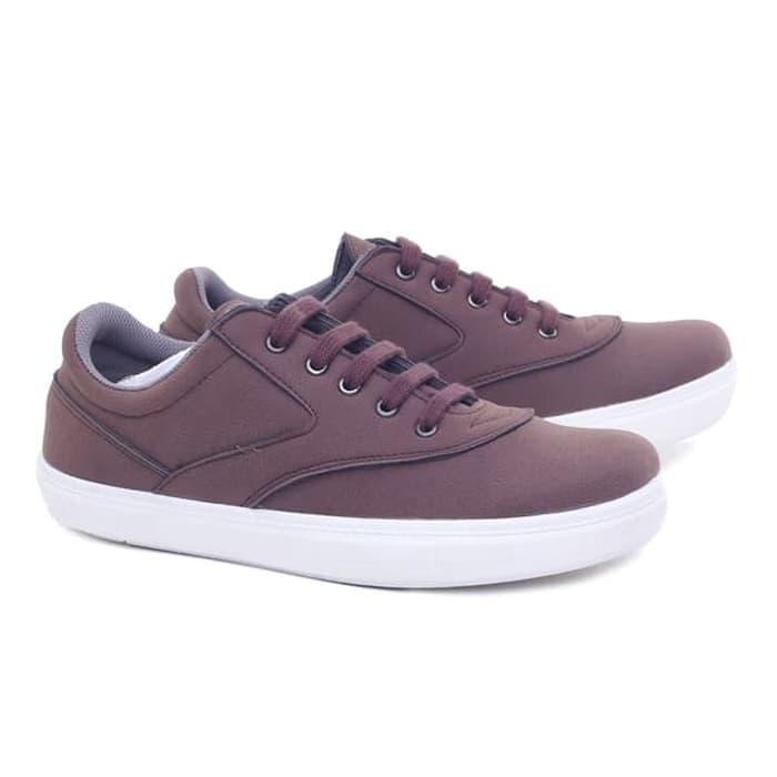 Sepatu laki-laki/ Sepatu Pria Kets Casual sepatu Murah Sneaker Cowok Keren keluaran terbaru model terbaru warna coklat