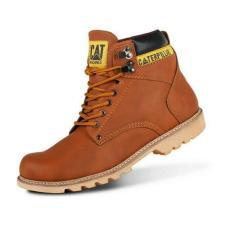Caterpillar Holton Enduro Hiking Sepatu Boots Pria Safety Tracking Ujung Besi Proyek Kerja Lapangan Hiking Touring