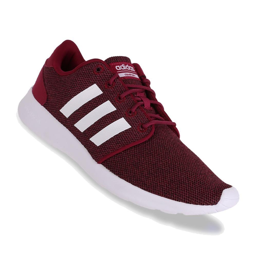 Adidas CF QT Racer - Sepatu Wanita - Merah
