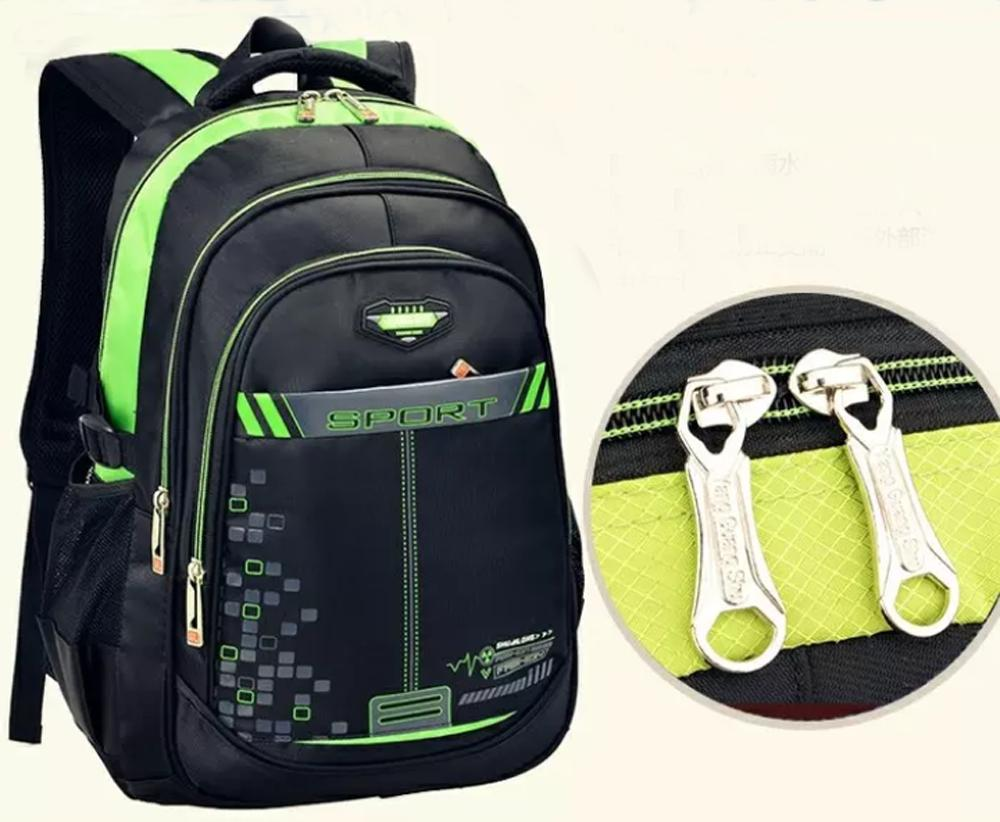 Tas Punggung / Ransel / Backpack / Tas Sekolah / Travel Bag Polo Jazz 14653 hijau + Raincover