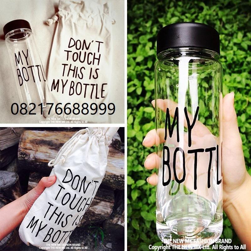 My Bottle free pouch sarung infused water 500ml/mawar88shop