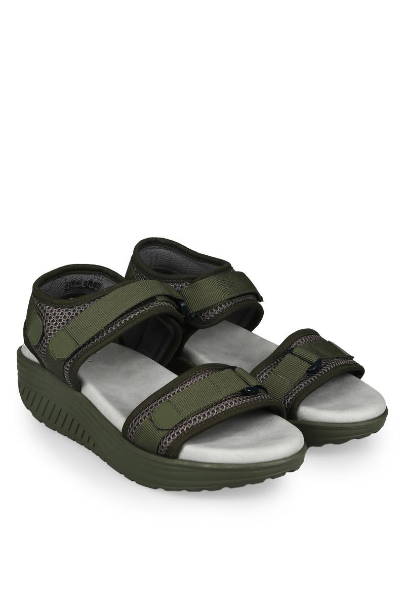 Yongki Komaladi Sandal & Flip Flop Fashion Wanita Engrasih Grey