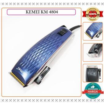 Shock Price PROMO LAZADA KEMEI KM 4804 MESIN ALAT CUKUR RAMBUT CLIPPER  ORIGINAL best price - Hanya Rp125.705 9eb450da1a