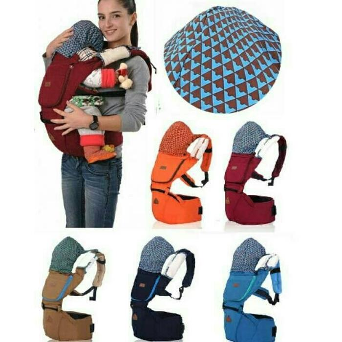 Aiebao Baby Carrier Hip Seat Waterproof Gendongan Bayi Air Motion