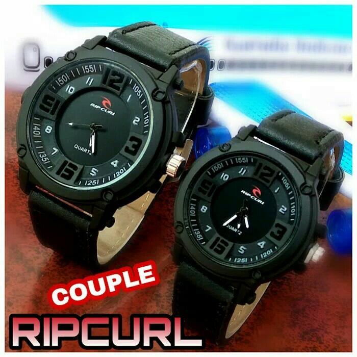 Jam tangan couple ripcurl / jam tangan pria wanita