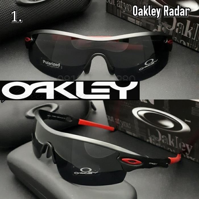 ASLI!!! Kacamata Oakley Radar Titanium Kacamata Polarized - y7hJgr