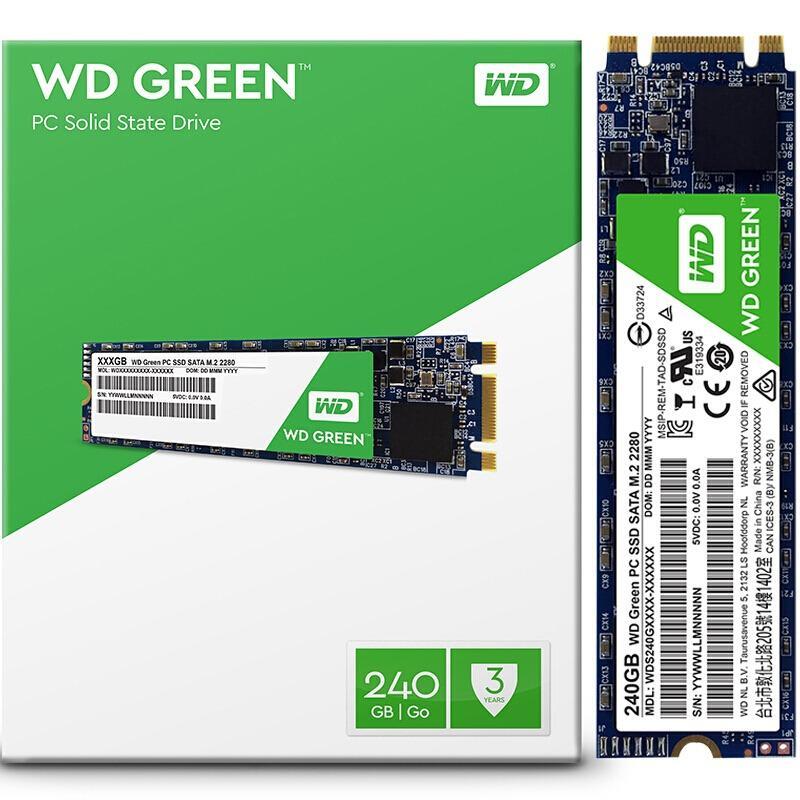 SSD WD 240GB GREEN M2