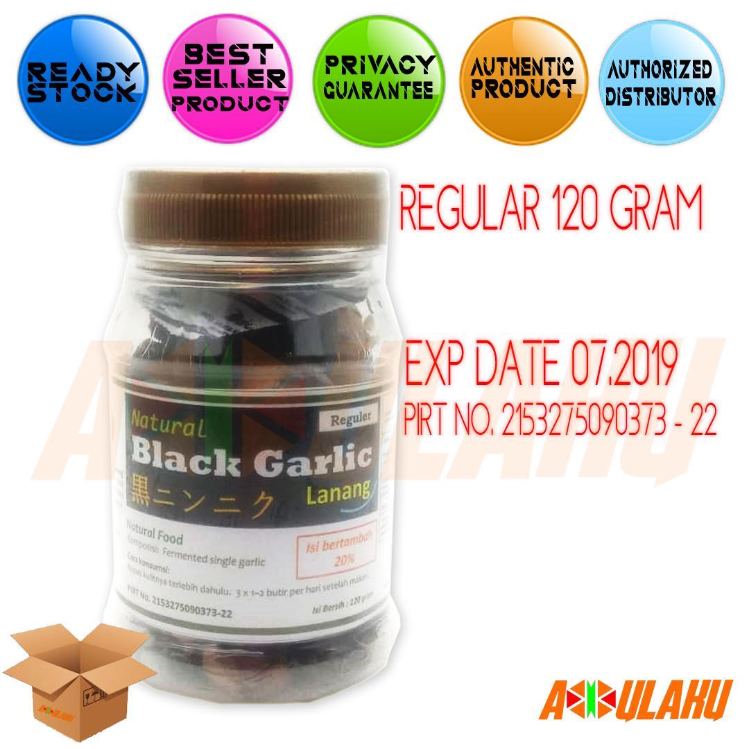 Jual Bawang Putih Tunggal Lanang Harga Rp 60000 Black Garlic 500 Gr Natural Regular 120gr Hitam