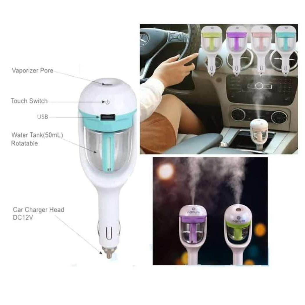 Harga aroma terapi pewangi dan penyegar mobil usb car charger | HARGALOKA.COM