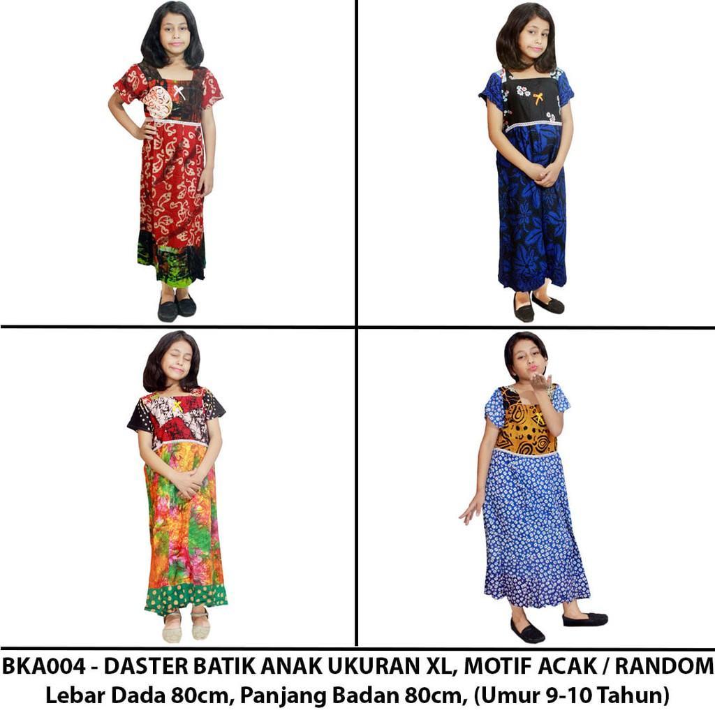 Daster Anak Batik- Baju Tidur Anak- Ukuran XL (BKA004-B)