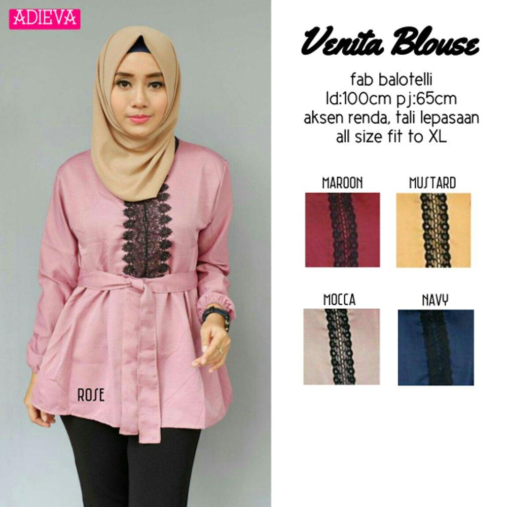 RATU SHOPPING Blouse Venita renda real pic