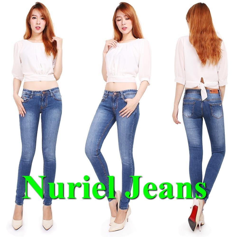 NJ Nuriel Jeans – Celana Jeans Wanita– Denim Premium Quality – L& Y Bio Jeans