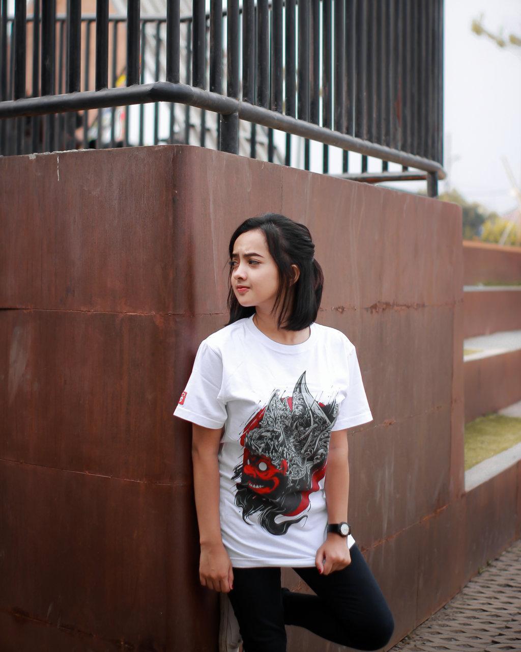 Culture Hero   Kaos Distro Keren Budaya Indonesia Kelono White