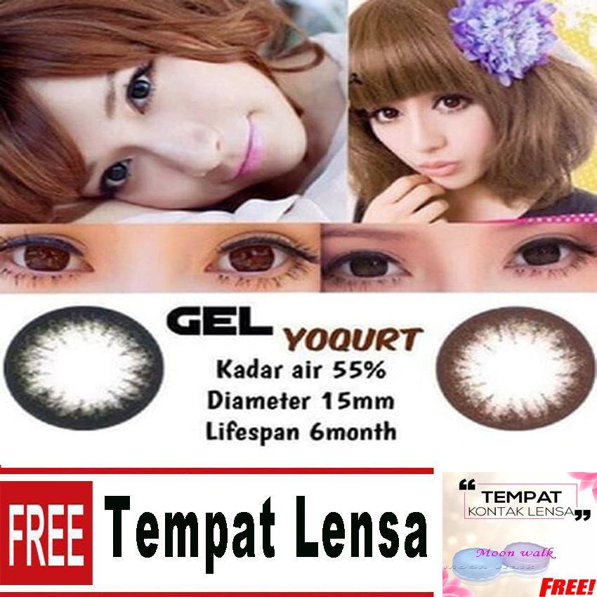 Gel Yougurt Softlens + Free Lenscase
