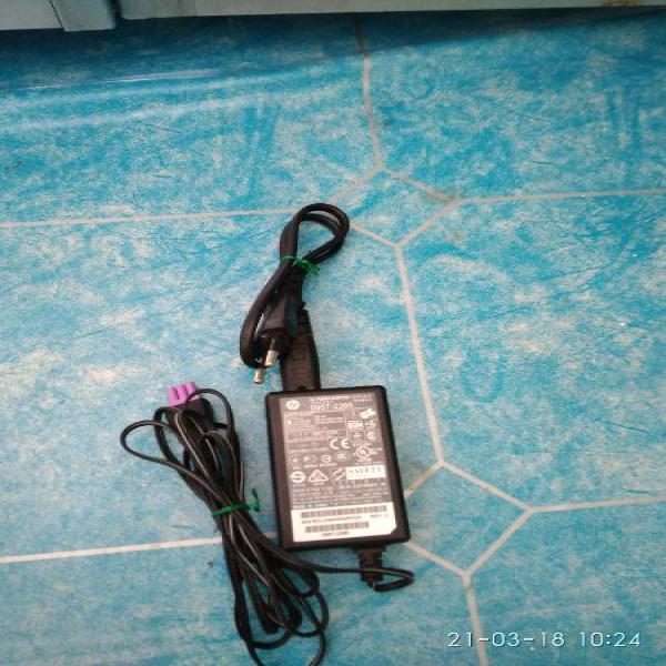 adaptor printer HP second original 22v 455ma