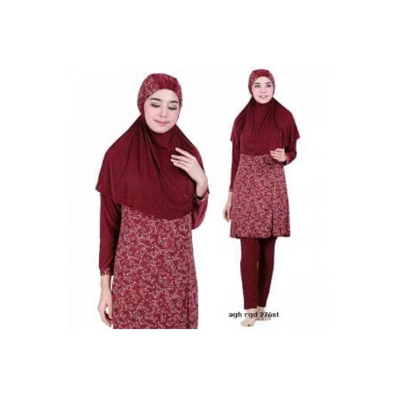 Size M Baju Renang Wanita Muslim Muslimah Aghnisan Murah