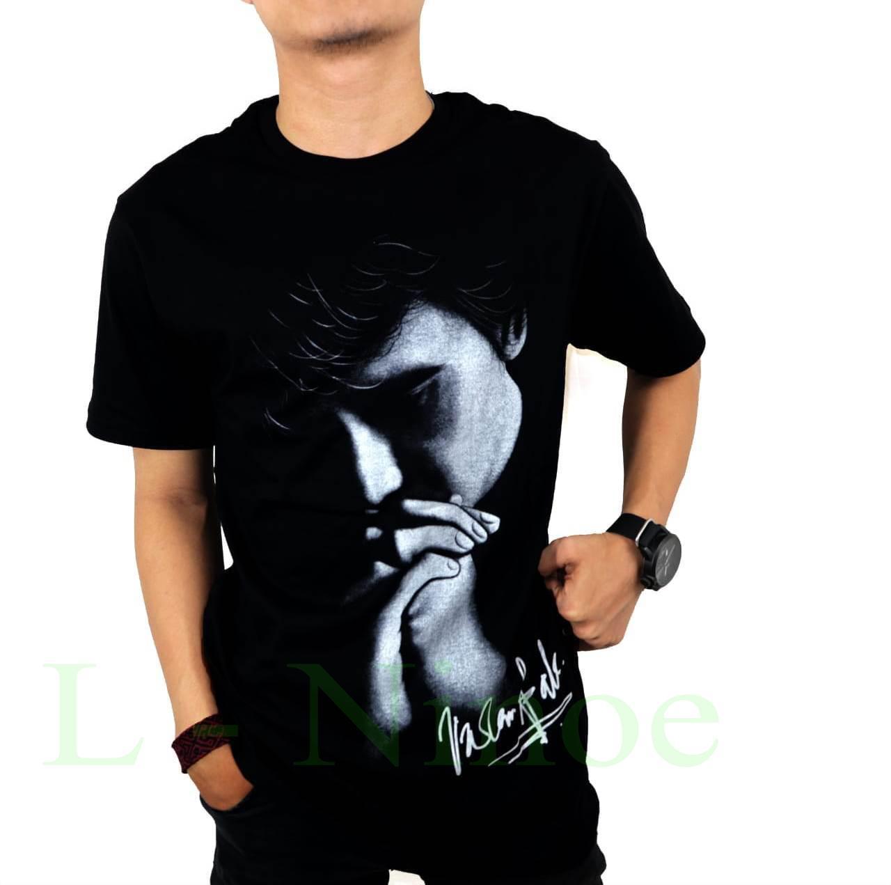 L Ninoe - kaos distro T-shirt fashion 100% soft cotton combed 30s kaos pria kaos fashion baju distr