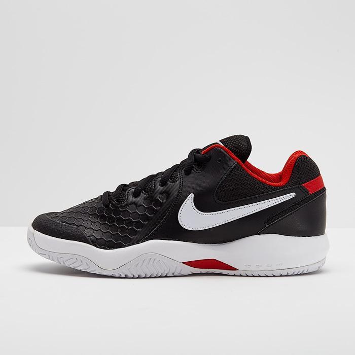 Sepatu Tennis Nike Air Zoom Resistance - Black/White Original