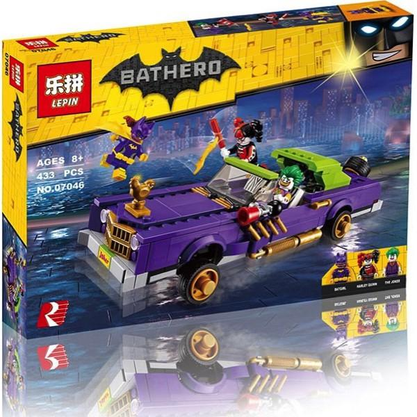 Bricks 07046 Batman Movie The Joker Notorious Lowrider - Lankmn