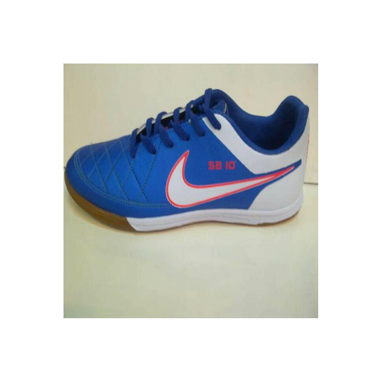 sepatu futsal NIKE SB10 warna biru