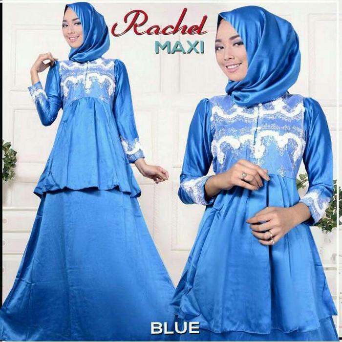 Tanah Abang Fashion terbaru termurah dan terlaris Gamis Muslim Rachel Aer