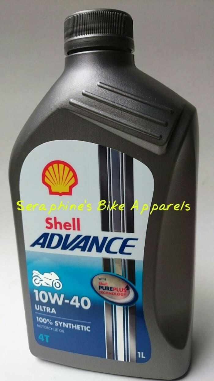 OLI MOTOR SHELL ADVANCE ULTRA 4T 10W-40 1L | 100% FULLY SYNTHETICS