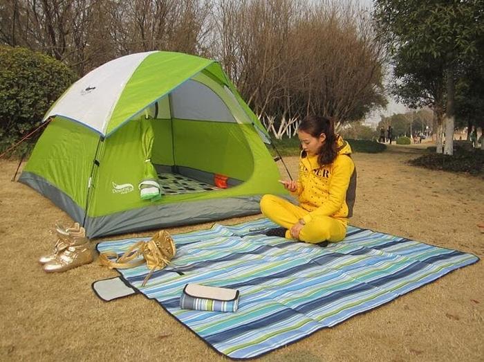 Tikar Plastik Lipat Untuk Piknik Camping Ataupun Dipakai Dirumah - OTlJtv