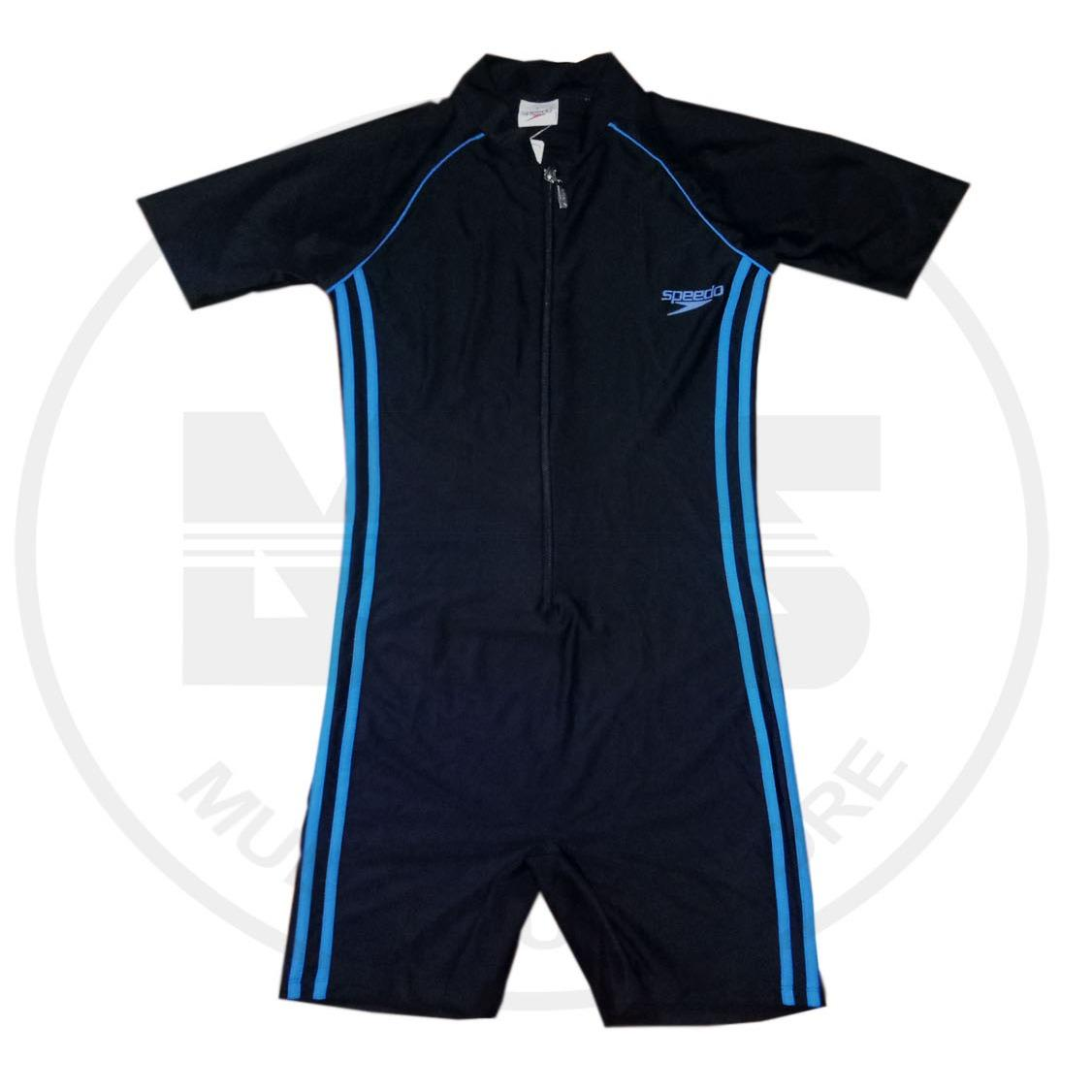 Baju Diving Speedo original list 2 biru