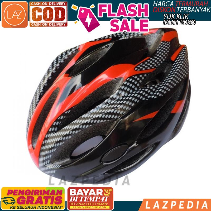 COD -  X10  Helm Sepeda EPS Foam PVC Shell   Perlengkapan Berkendara   Helm be6bc80592