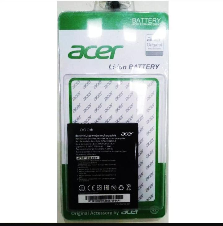 Baterai Acer A11 For Acer Z410 Z320 Z330 Batre Hp Original