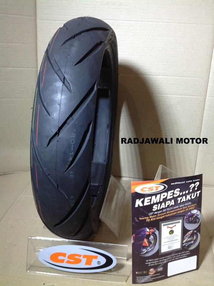BAN LUAR MATIC 90/80-14 CST CM621 SOFT COMPOUND