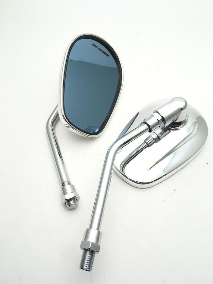 Spion Oval CB Spion Oval Chrome Spion Motor CB Spion Klasik Variasi
