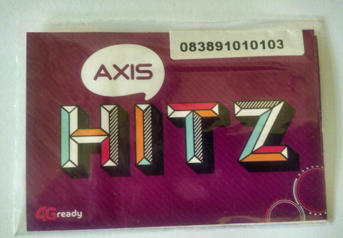 Jual Pulsa Axis Terlengkap Termurah No Perdana Cantik Hitz 3g 4g Kartu