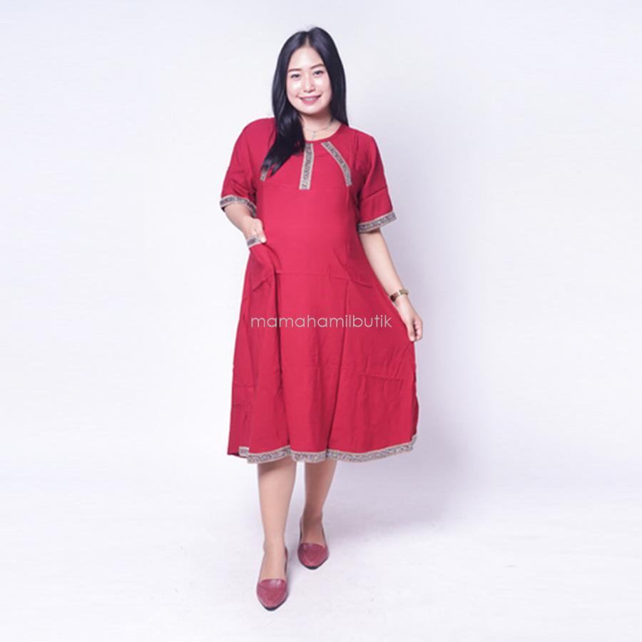 Ning Ayu Daster Hamil Motif Arab Silver Cantik Modis - DS 464 / Baju Hamil Kerja / Baju Hamil Modern / Baju Hamil Lucu /  Baju Hamil Modis/ Baju Hamil Murah / Baju Hamil Untuk Kerja /Baju Hamil Muslim / Baju Hamil Seksi