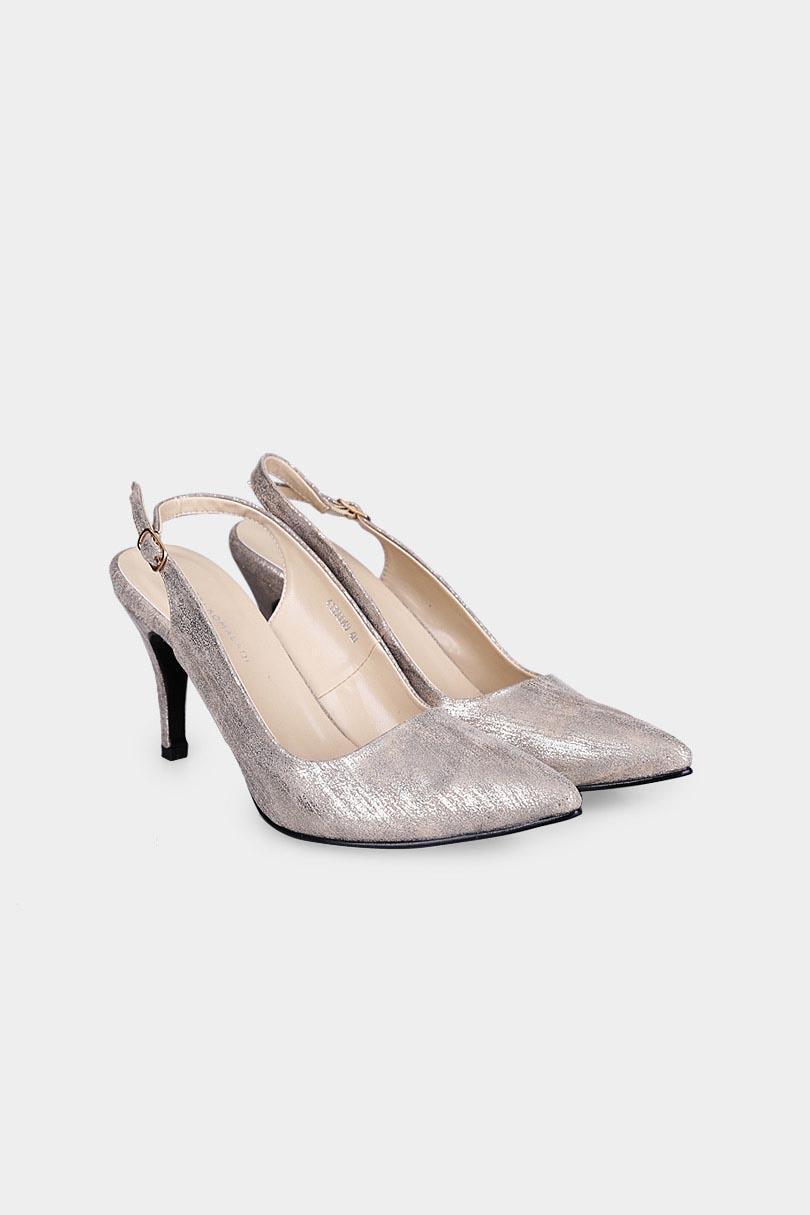 Yongki Komaladi Sepatu Fashion Sandal Heel Wanita 41390049 Camel