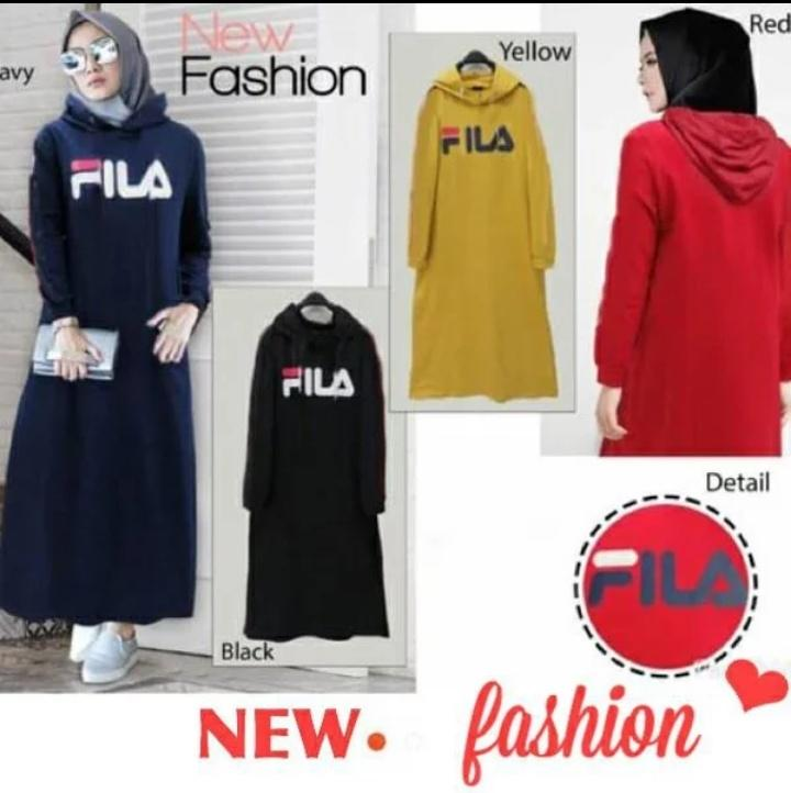 Buy Sell Cheapest Fila Maxi Baju Best Quality Product Deals