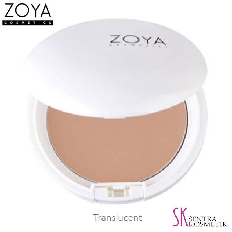 ZOYA Natural White Two Way Cake Translucent - 20 gr
