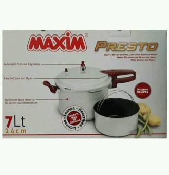 Harga preferensial Panci Presto Maxim 7 Lt/ 24Cm terbaik murah - Hanya Rp393.975