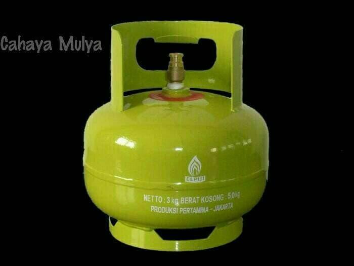 Tabung Gas Elpiji Pertamina 3 Kg Melon Isi Penuh Asli Pertamina