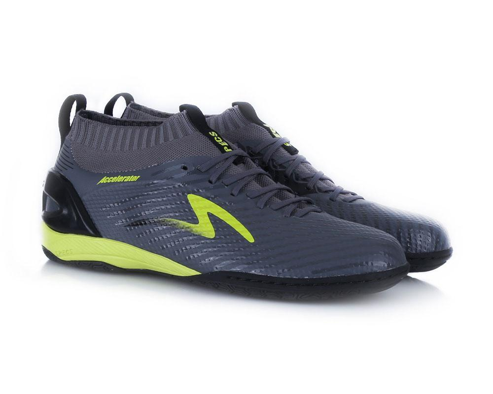 Sepatu Futsal Pria Specs Accelerator Infinity In - Dark Granite Black Solar  Slime 8bdf0069fd