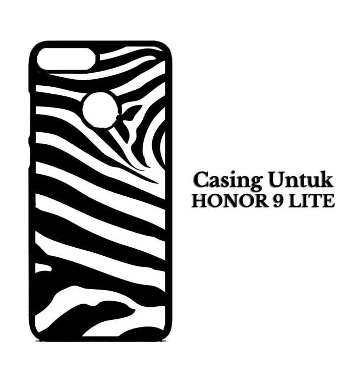 Casing HUAWEI HONOR 9 LITE pattern zebra Hardcase Custom Case Snitchshop