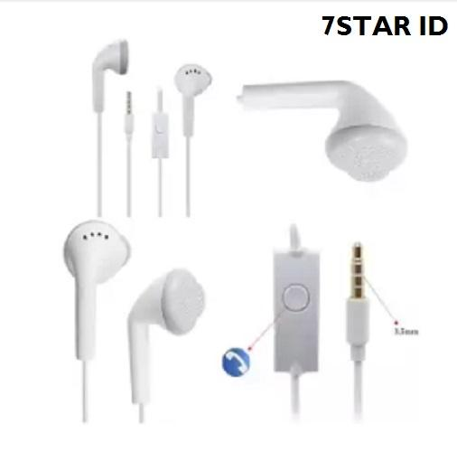 Samsung Handsfree 7STAR / Headphones / Earphone / Headset Samsung Support Untuk Semua HP - Putih