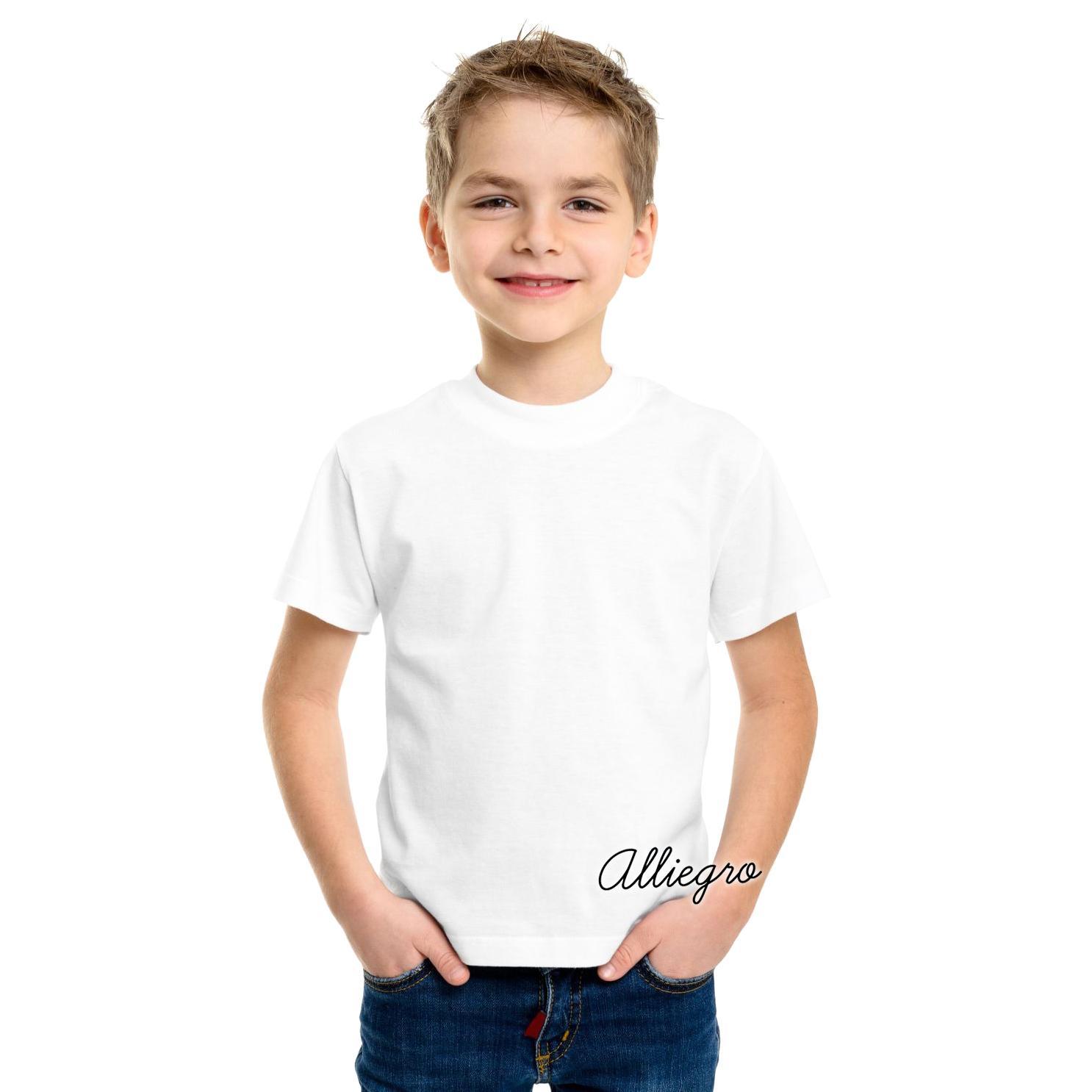 Jual Baju Atasan Anak Laki Setelan Cowo Tosca Tee Softjeans Alliegro Kaos Polos Cotton Distro Premium Putih