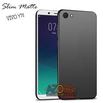 Harga preferensial Case Slim Black Matte Vivo Y71 2018 Baby Skin Softcase Ultra Thin Jelly Silikon Babyskin beli sekarang - Hanya Rp5.814