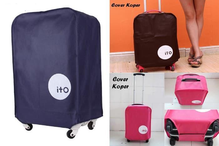 BEST SELLER!!! Cover Koper (yang sering traveling wajib punya, koper jadi ga mudah ko - CPDiIo