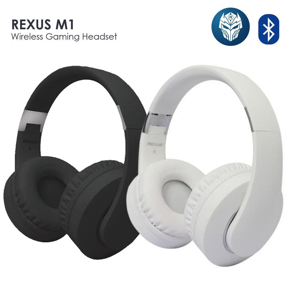 Jual Produk Rexus Terbaru Termurah Headset Gaming Vonix F26 Hitam Original M1 Wireless Bluetooth